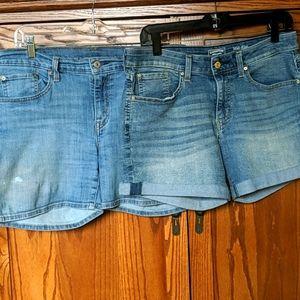 Levi Denim Shorts (2!)